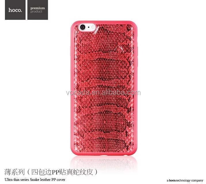 HOCO Ultra Thin Series Snake Leather Case For iPhone 6
