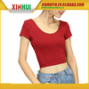 China Supplier Apparel Cotton Crop Top