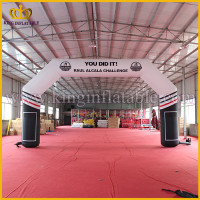 Best Selling Double Stitching Racing Infatable Finish Line Archway, Inflatable Sports Arch