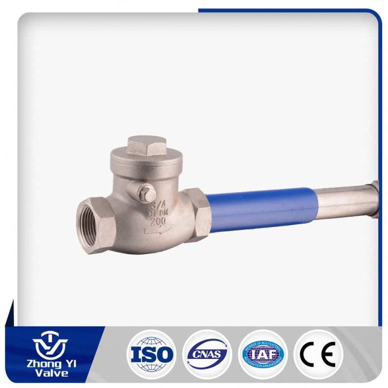 1/4-3 inch Class200 Screwed Ends tilting disc check valve for drain