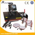 2015 Manual combo heat press machine 5 in 1