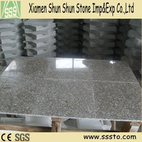 Yongding red round granite kitchen tables with high quality