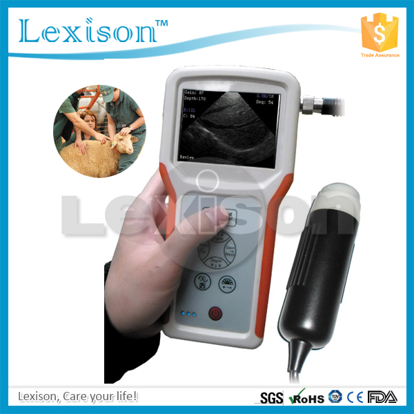 FARM SCAN PRUS-S1V veterinary portable ultrasound machine for cows pigs sheep cattle dairy horse pregnancy