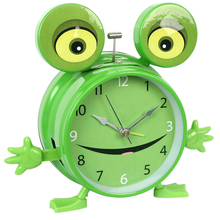 "4"" unique animal voice room decor gifts desk alarm kids clock for sale"