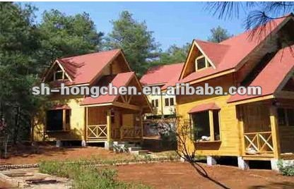 (Certified by CE,B.V.,CSA &AS)wooden Homes wooden villa