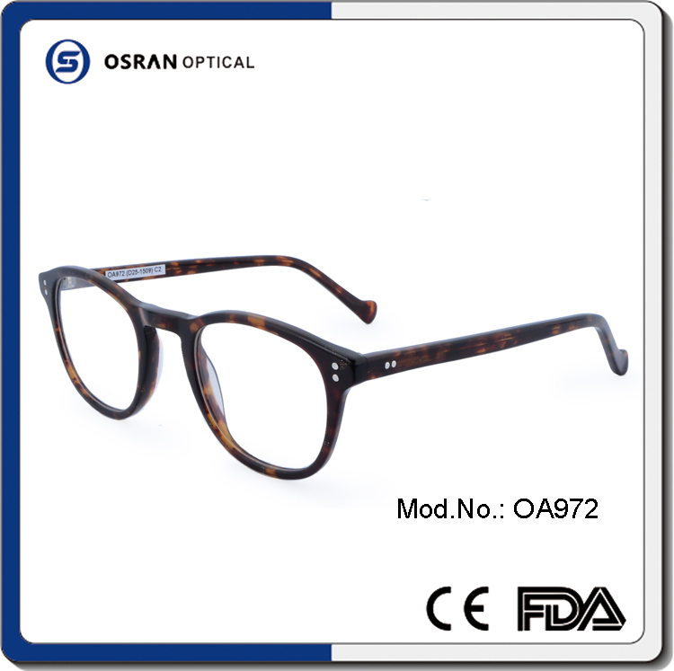 New Design taoabo alibaba Eyewear Classic Optical Glasses Eyewear acetate frame in spanish