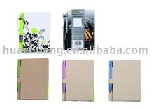 MN9003 Promotional Eco Notepad with ball pen