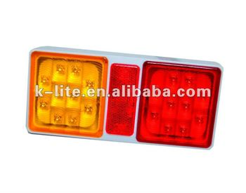 E-mark approval ,12V Trailer LED Lamp