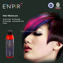 2015 hot sale semi-permanent shining crazy color hair manicure products