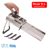 pure S/S home use manual vegetable slicer and chopper