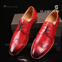 Italian genuine leather dress formal shoes for men office shoes with low MOQ