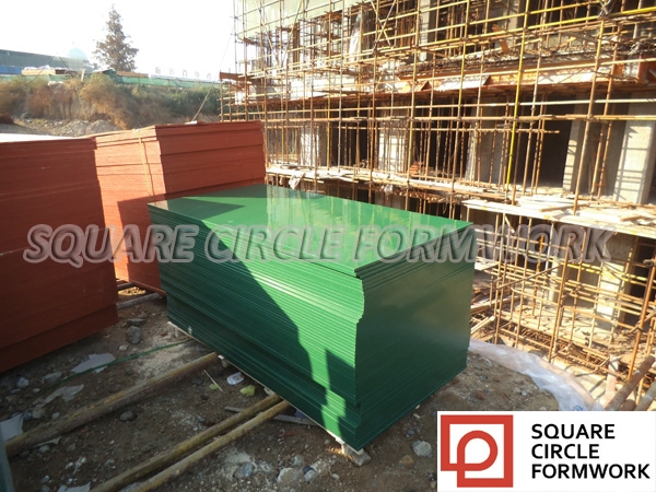 high quality construction grade PP plastic coated waterproof wood panels outdoor reusable 30-150 times