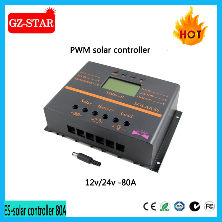 Hot selling mppt solar charge controller 80 amp pwm solar charge controller 10a with CE certificate