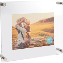 Custom a4 size acrylic open hot sexy girl photo or photo picture frame