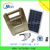 New Design Solar Home Lighting System 10W / Solar Lighting System 10W with 2 LED lamps,phone charger and fan