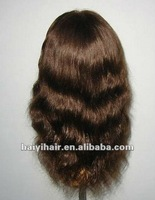 tight curly human hair full lace wig