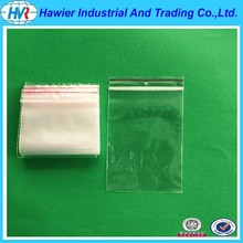 Certified by BV SGS Custom Clear zipper plastic bag