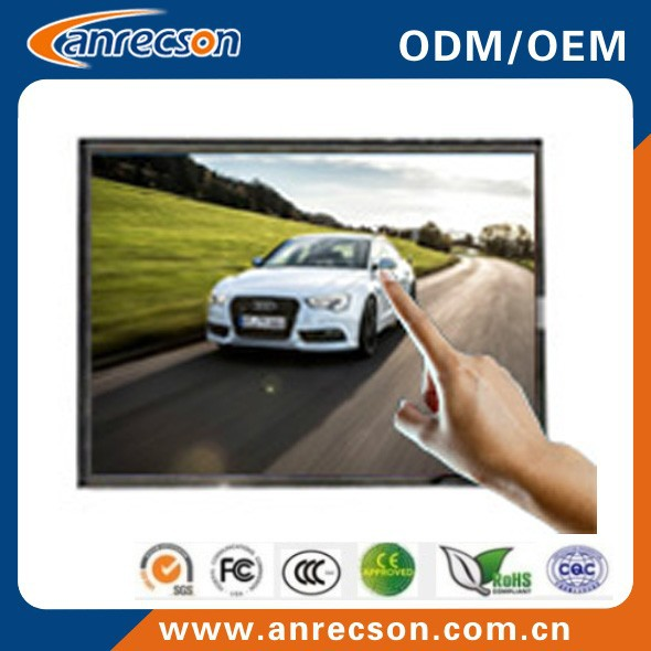 15 inch touch LCD frame monitor for CNC machine