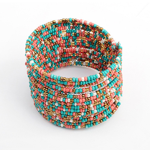 Yiwu factories jewelry beads multilayer fashion bracelets