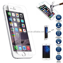 Transparent tempered glass screen protector 9H 0.33mm for iphone 5 5s 6 6plus 6s CO-TGCP-7001