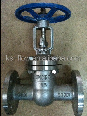 KS 6 inch flange Stainless steel rising stem Gate Valve with prices