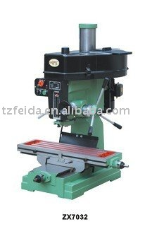 bench drilling & milling machine/driller and miller/drilling machine ZX7032