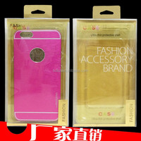 Customized Iphone 6 Case Packaging Box with blister,printing