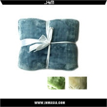 Hot selling cheap custom portable baby microfiber blanket