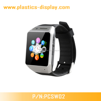 CE certified IOS and Android supported smart watch with phone call,Pedometer,Camera,Bluetooth ,anti-lost functions