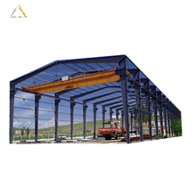 Light Steel Structure Warehouse Shed Drawings Of Prefab Building