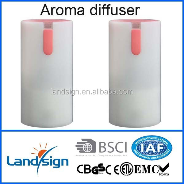 humidifier facttory with ISO9001 and BSCI certified aroma diffuse with led light