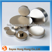 SY rare earth magnets large strong wholesale neodymium magnets adhesive 1 2 x 1 8