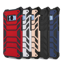 Premium PC TPU Hybrid Mobile Phone Shockproof Cover Case For iPhone 7