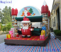 Customized Inflatable Christmas Bouncy Castle Inflatable Bouncer