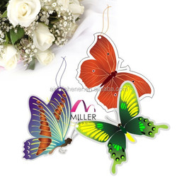 Good smelling butterfly shape car paper air freshener