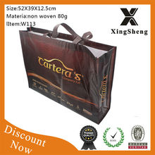 Excellent quality low price supply reusable promotion non woven bags manufacturer in ahmedabad