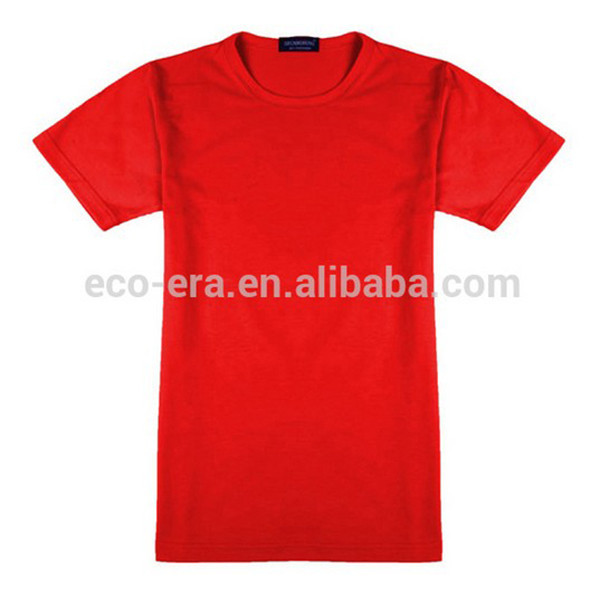 Factory Wholesale Clothing 200g 15 Lycra 85 Cotton Round Neck Men's T Shirts With Custom Labels