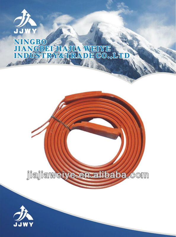 5000*15mm Built-in Pipe Heating wire/tape ce