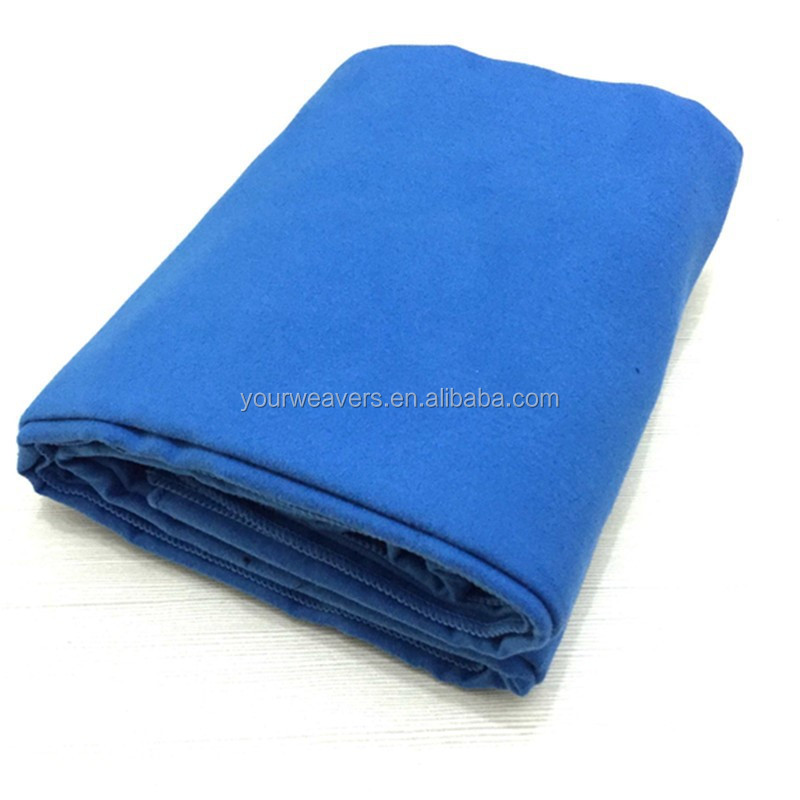 Top Quality Quick-Drying Microfiber Suede Beach Blanket, Lightweight Beach Towel