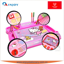 Hello Kitty mini office stationery set