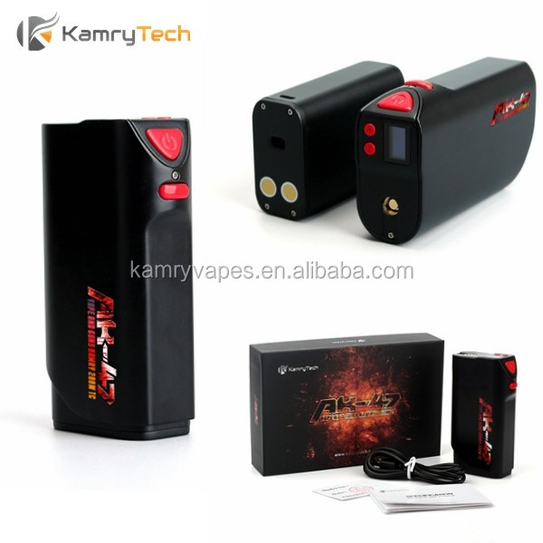 vape best box mod e cig cheap price kamry ak 47 200w huge vapor variable wattage mod vape a box support rda/rta atomizer