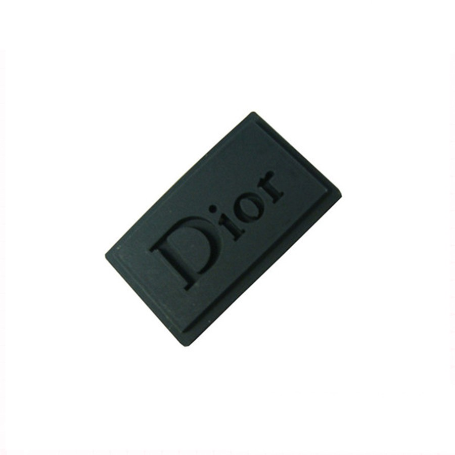rubber badge/silicone rubber label