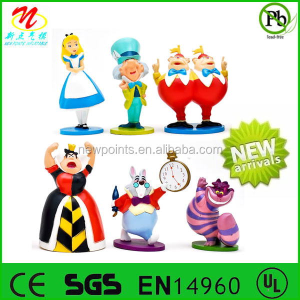 Alice in wonderland collection of inflatable characters,high quality inflatable model,cost-effective inflatable cartoon