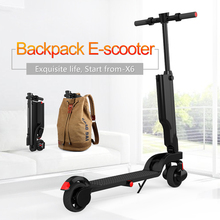 Foldable Lightweight Adult Electric Scooter with Li-Ion Battery, Black