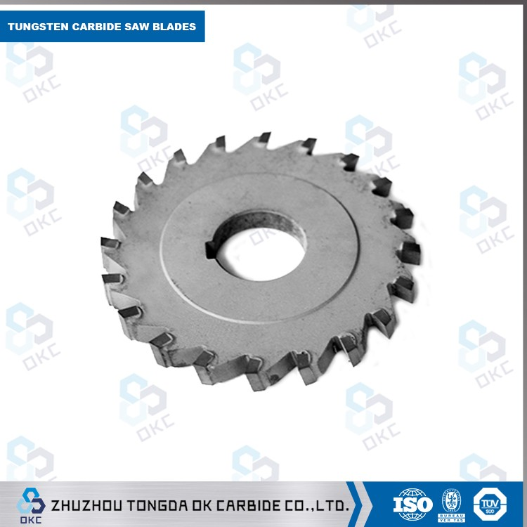Tungsten carbide-tipped circular sawblades