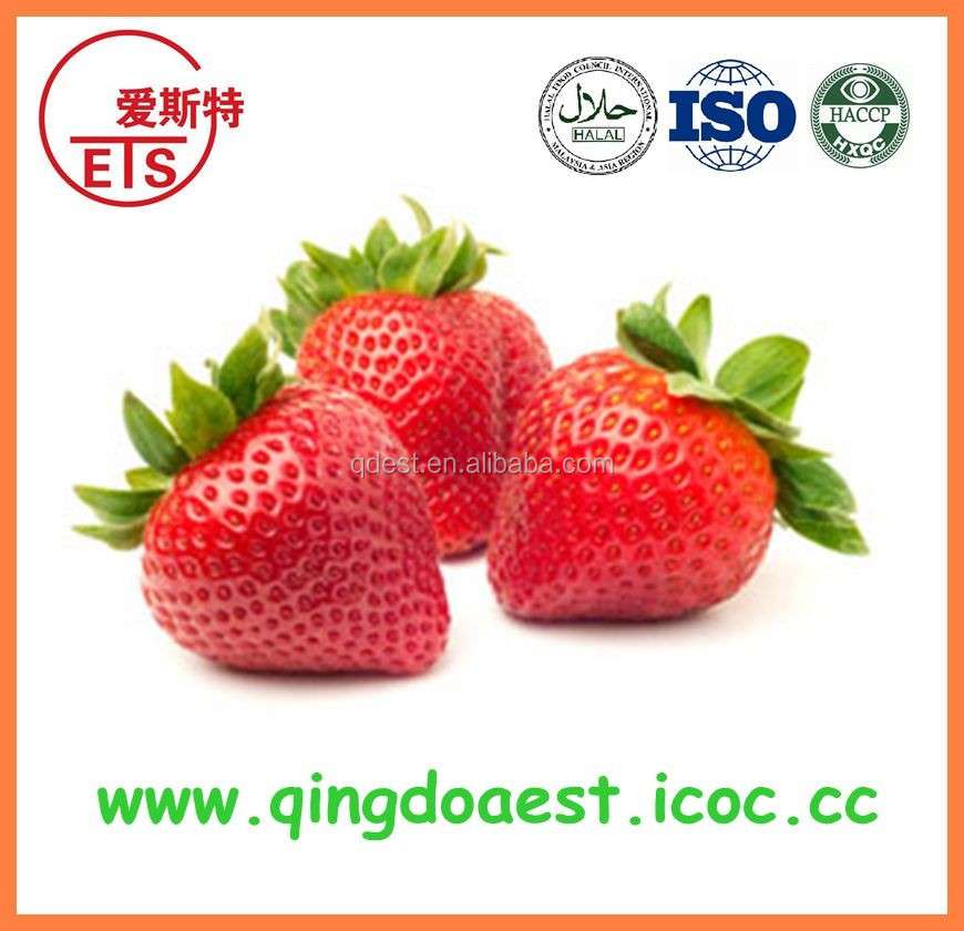 Hot sale bulk Grade A frozen IQF fresh strawberry