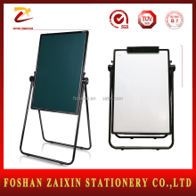 Promotional Double side Flip chart board Green and white board with stand Flipchart easel