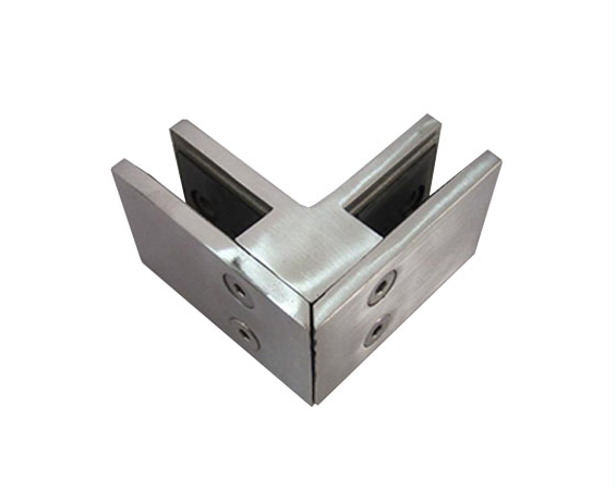 Glass door clamp for glass mounting clamp of glass door hinge clamp Hot Sale