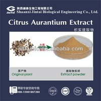 GMP 100% Natural Citrus Aurantium Extract Synephrine 98% HPLC for hot sale
