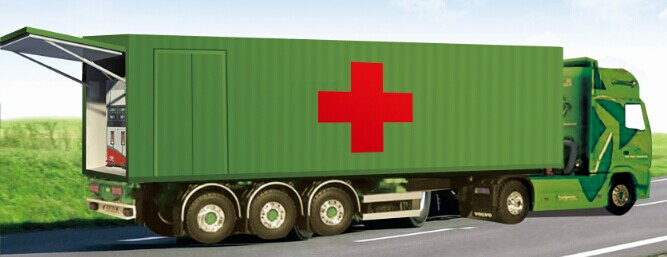 Mobile & Explosion-proof Gas Station - 40ft container
